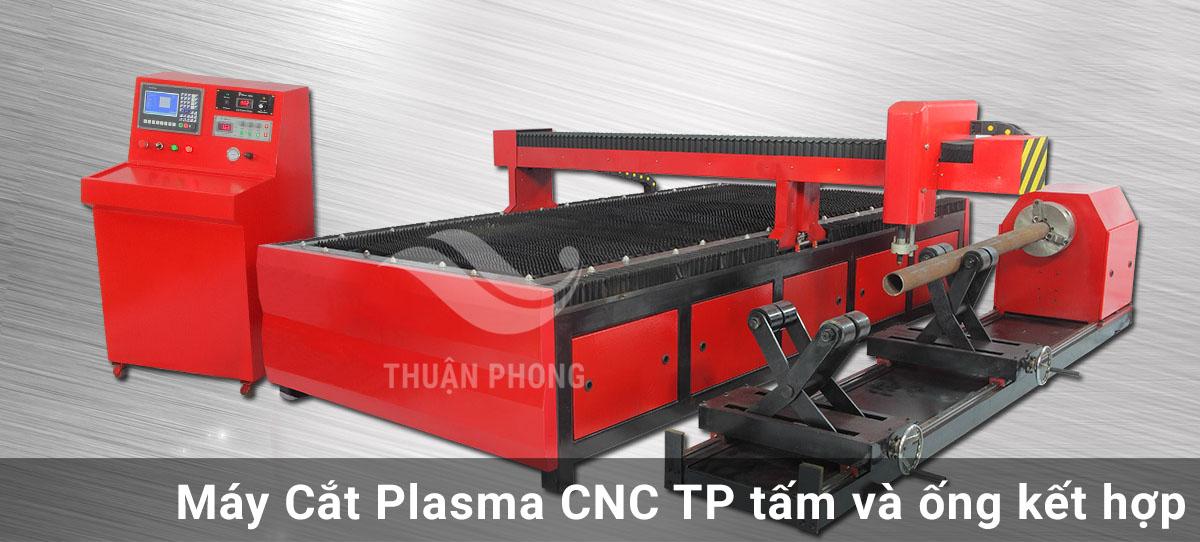Máy cắt Plasma CNC Tấm và Ống